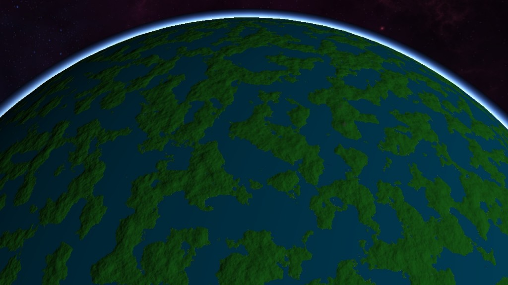 Planet Diffuse Map