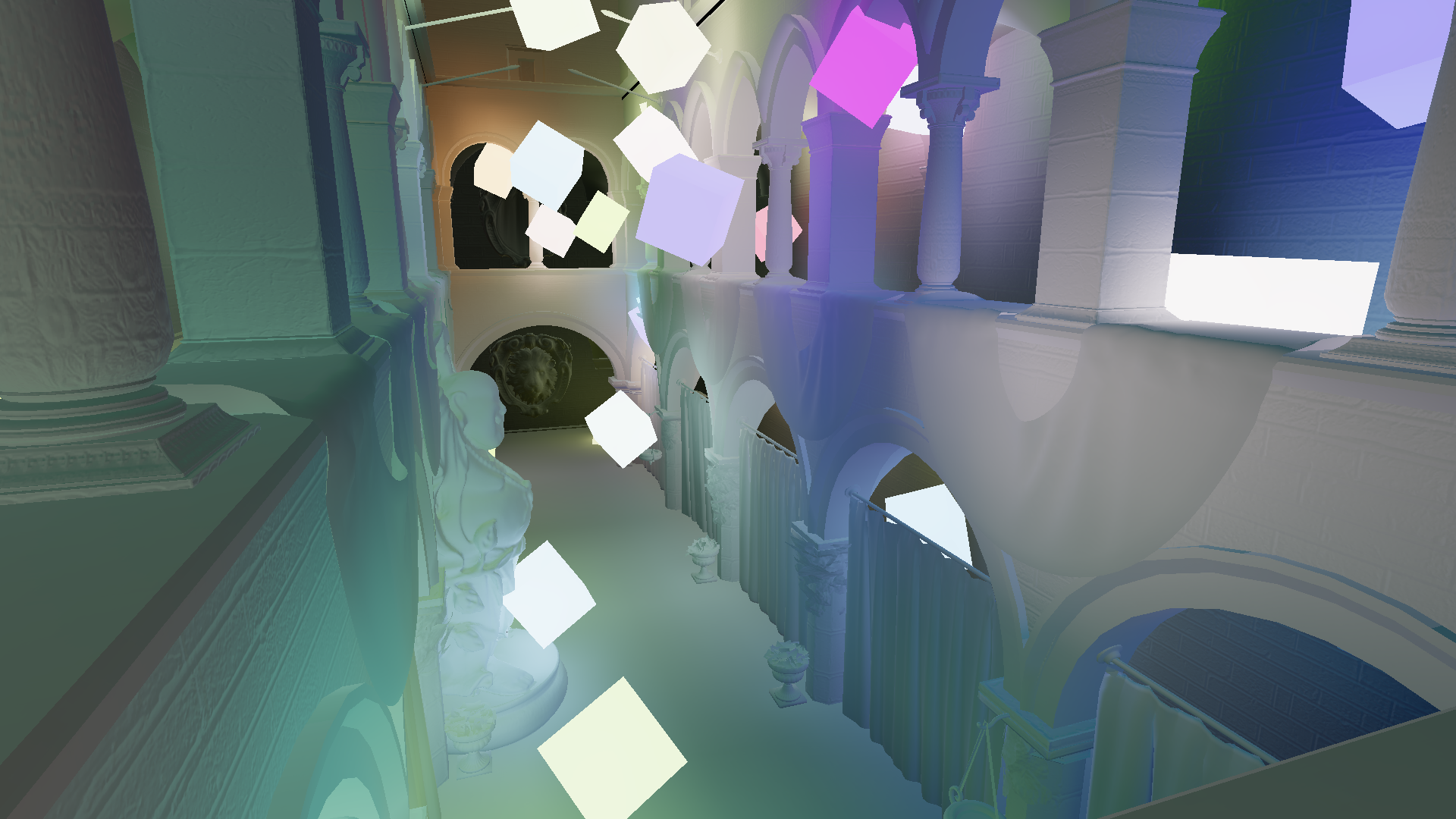 Voxel Cone Traced Global Illumination – Leif Node